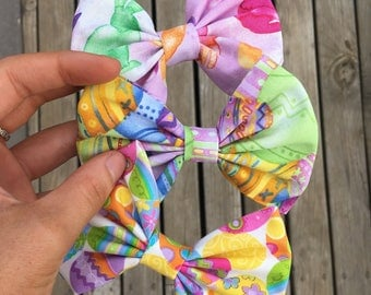 Easter egg and bunny Bows
