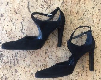 Shoes with straps Alberto Zago vintage 1980s
