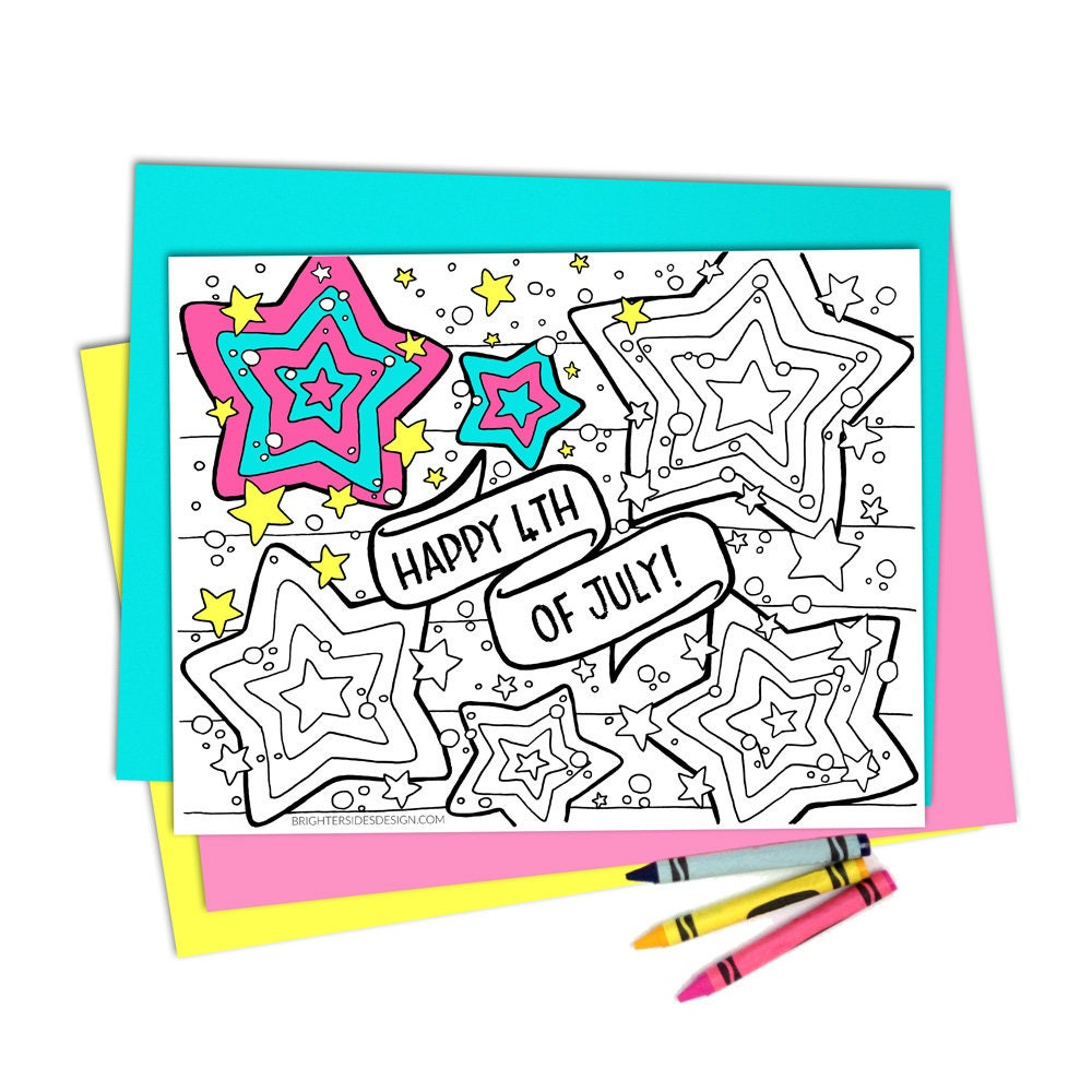 4th of july coloring pages printable coloring kids