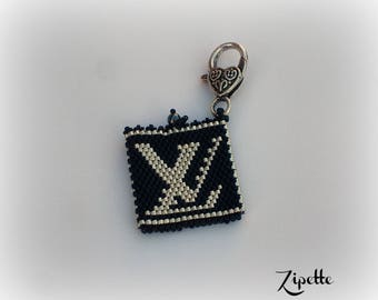 Door tokens - 2 YSL black and silver Keyring