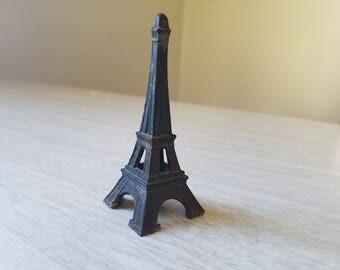 Vintage Eiffel Tower--Tiny, Miniature, Small Metal