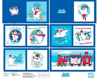 Frosty the Snowman Book Panel - Everyone's Favorite Snowman and Rudolph