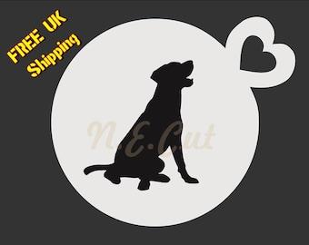 Free Greyhound Cake Stencil