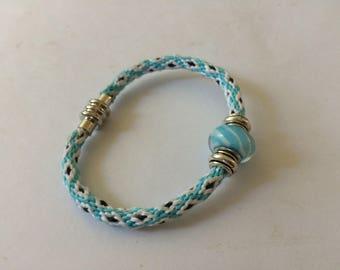 Friendship Bracelet, woven kumihimo