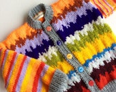 CUSTOM ORDER  for  GAY, unisex baby cardigan, baby clothes, baby boy clothes, baby girl clothes, baby jacket, handknit baby top, handknitted