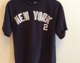 Vintage New York Yankees Derek Jeter #2 shirt - MEDIUM