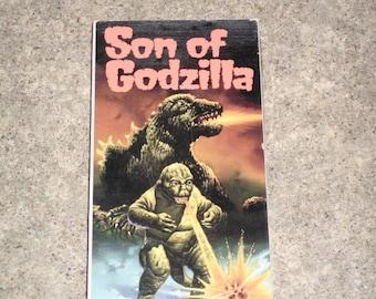 Vintage 1989 VHS Movie - Son Of Godzilla - CST