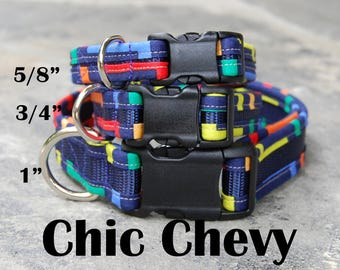 StitchPet Dog and Pet Collars - Chic Chevy
