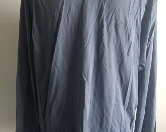 Mens blue long sleeve sweatshirt