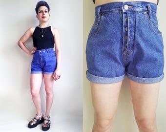 90s Clothing Jean Shorts Denim Shorts Vintage Denim Shorts High Waisted Shorts Mom Shorts High Rise Shorts 90s Shorts 27 Waist