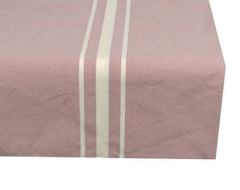 Square tablecloth fabric 150X150cm pastel lilac