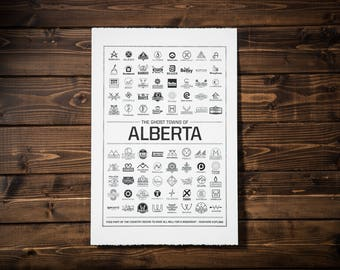 Ghost Towns of Alberta, White