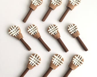 Lacrosse (10)handmade edible fondant cupcake toppers made by FancyTopCupcake
