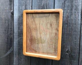 Vintage Oak Wood Frame 8x10