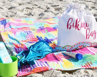 Monogram Beach Towels, Personalized Beach Towels, Pool Towels, Bridesmaids gifts