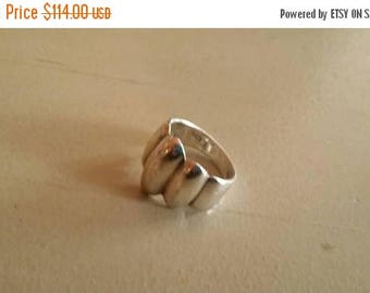 Holiday SALE 85 % OFF Vintage  Ring Size 5. 925 Sterling  Silver