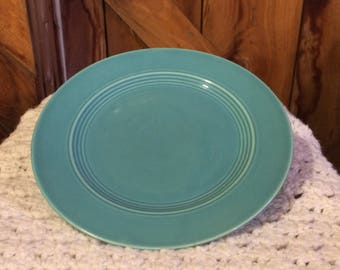 """9"""" Harlequin turquoise luncheon plate"""