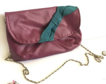 leather handbag, leather purse, leather shoulder bag