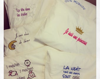 Pillow cushion for your baby or child to personalize