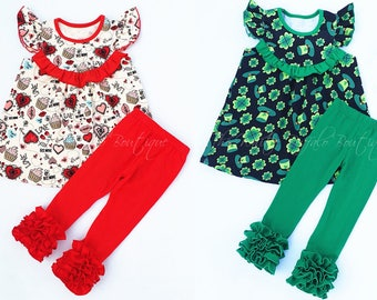 Valentines Day and St Patricks Day outifts. FREE SHIPPING!!