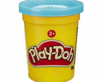 Jar of Play Doh - blue