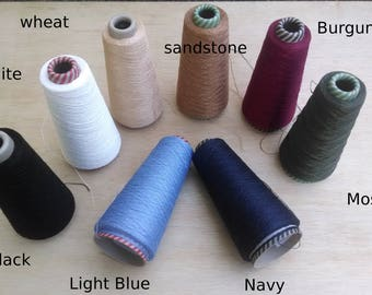 100g (3.5 oz) Linen (24/3) in a variety of colours