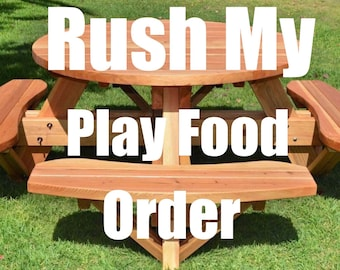 Rush Order-Play Food