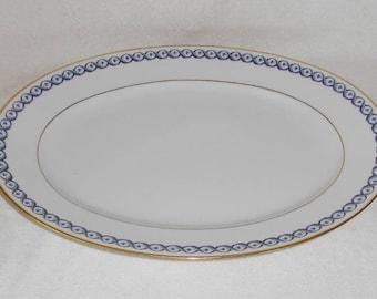 Richard Ginori Italy Elba Oval Porcelain Platter