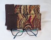 Glasses Case, Sunglasses Case, Quilted Glasses Case, Quilted Eyeglasses Case