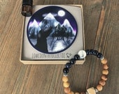 The Nicky Bracelet // Essential Oil Diffuser Bracelet-- FREE STICKER and free shipping
