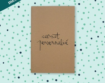 Notebook - sketchbook. custom - message style papermiint