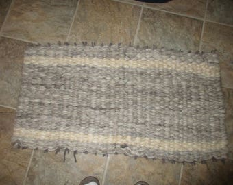 Wool Peg Loom rug
