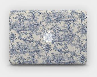 Transparent MacBook Skin MacBook Sticker MacBook Decal Laptop Skin  MacBook Air  MacBook Pro  – Toile de Jouy Chinoiserie