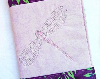 Dragonfly Quilted Journal / Journal Diary / Journal Notebook / Writing Journal / Fabric Journal / Handmade Journals / Thoughtful Gift