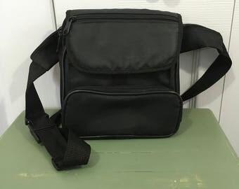Vintage Fanny Pack Black Nylon