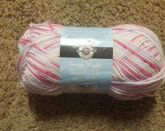 DESTASHING-Loops & Threads Snuggly Wuggly yarn-Happiness 1 skein