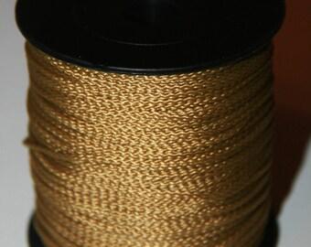 Fil en polyester 1.5 mm - couleur Or