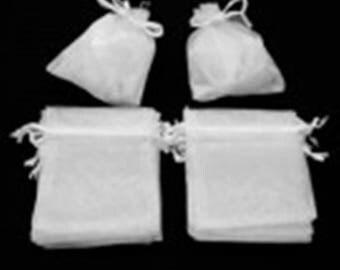 (Set of 10) organza bag