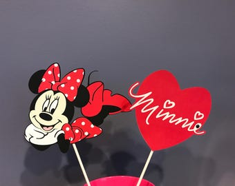 Two Piece Minnie Mouse Centerpiece