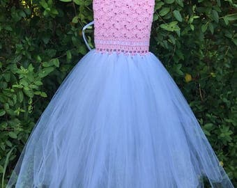 Handmade Crochet Tutu Dress