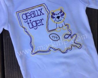 LSU Tigers Stitch Shirt