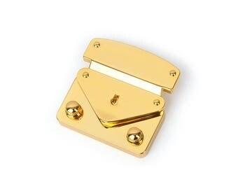 Haute qualité clé verrouille (largeur ver.) / Boucle de valise flip serrures pour sacs, sac à main Flip Locks, fournisseurs de fabrication de sac, MLT-P0000BXS