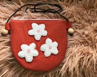 Spring Daisies Crossboby Girls Purse