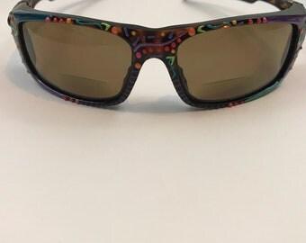 Vintage Hand Painted Sunglasses