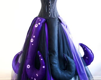Ursula Seawitch inspired Costume Villain Party, Made to Measure.