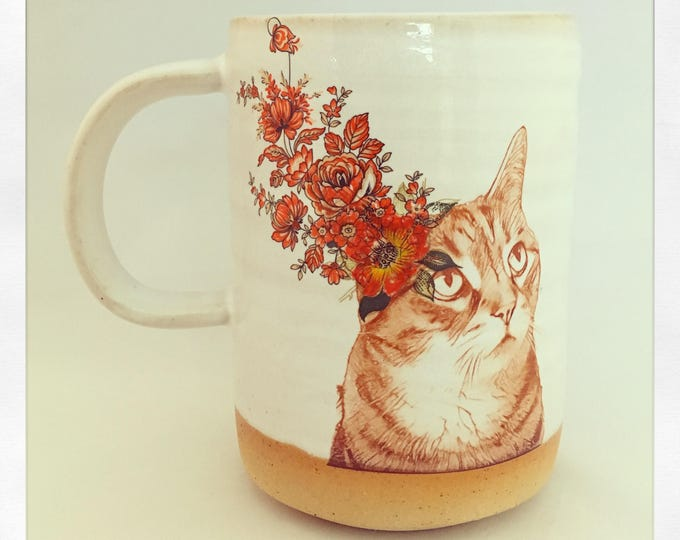 Featured listing image: Push Push's Darling Tabby Cat Mug