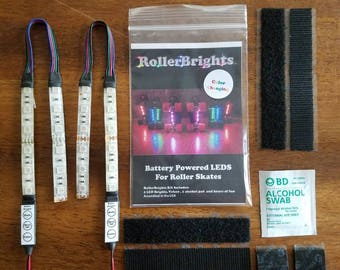 Daisy Chain Color changing RollerBrights LED lights for Skates