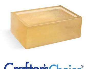 Crafters Choice 2 LB Premium Honey Melt and Pour Soap Base