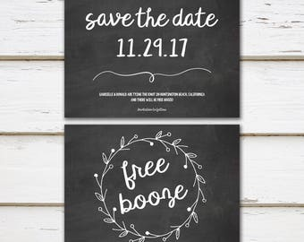 Save the date shit just got real getting married printable printable funny save the date engagement announcement free booze free drinks adults pronofoot35fo Image collections