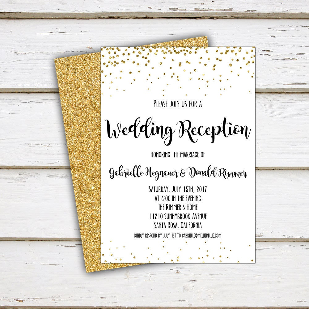 Already Married Wedding Invitation Wording 28 Images Printable
